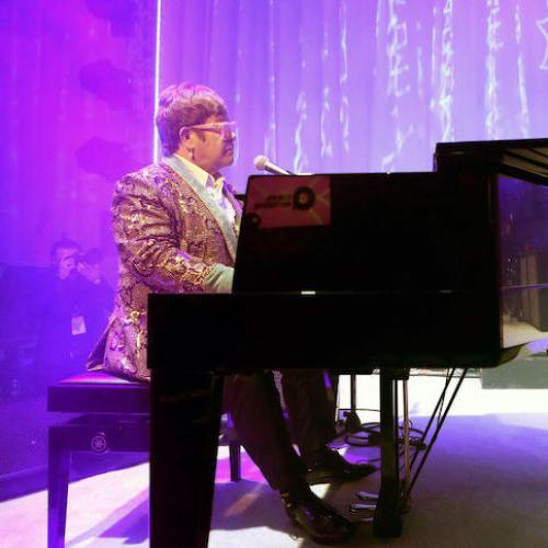 WATCH: Elton John Performs 'Daniel' With Brandon Flowers