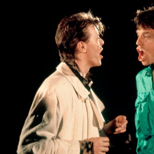 Mick Jagger Remembers David Bowie Dancing