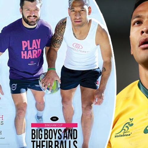 Israel Folau Was Once A Poster Boy For Gay Rugby Tournament