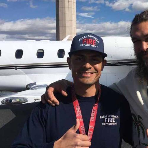 Jason Momoa's Jet Makes Emergency Landing