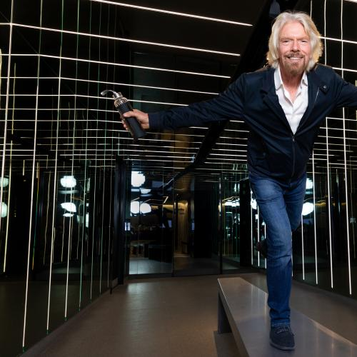 REVEALED: The Surprising Music Richard Branson Works Out To