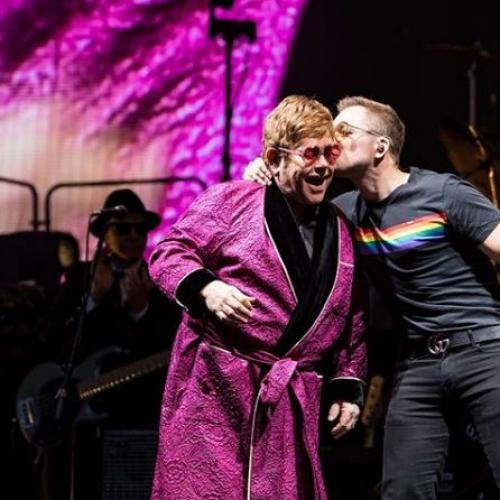 "Elton John & Taron Egerton Sing Beautiful ""Your Song"" Duet"