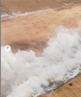 National Highway One Closed Following Bushfire Near Port Wakefield