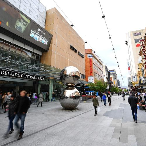 Rundle Mall's Pavers Could Be Replaced Again For An Unexpected Reason