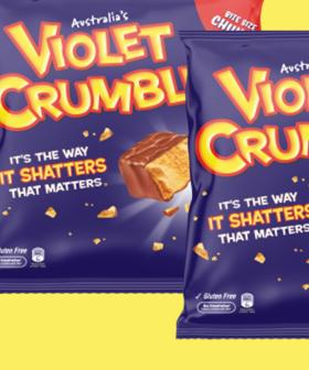Robern Menz To Start Making Violet Crumbles 24-Hours-A-Day To Keep Up With Your Demand