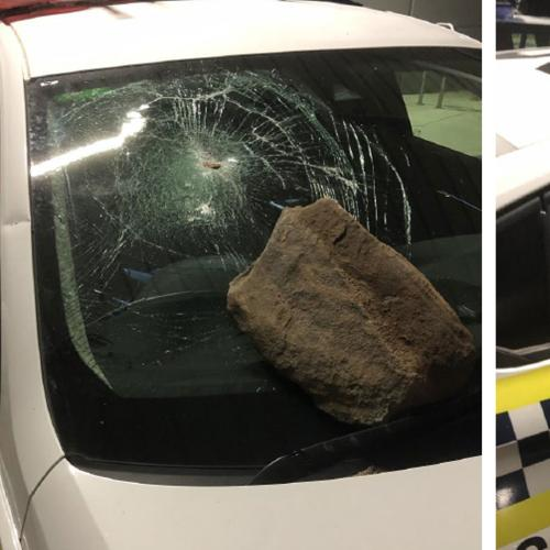 Police Retreat From SA House Party As Patrol Car Damaged By Bricks And Rocks