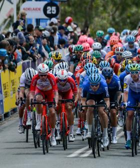 Now Adelaide's Iconic Tour Down Under Has Been Cancelled