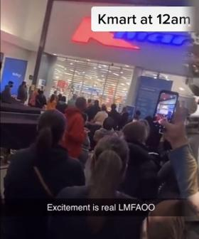 Crowds Flock To Kmart Stores At Midnight As Melbourne Leaves Its Lockdown