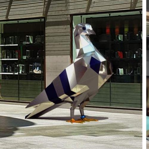 Rundle Mall Has A New Sculpture...And It's A $174,000 Giant Pigeon