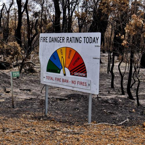 Threat Of Bushfire Drops, But Residents Urged To Stay Alert As Blaze Continues To Burn