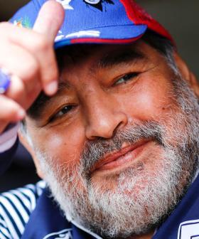 Diego Maradona Dies At Age 60