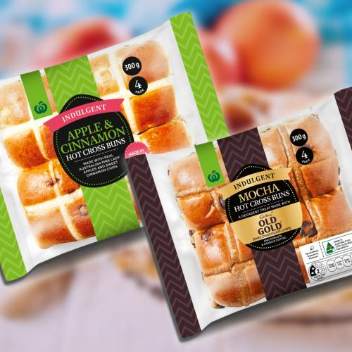Woolies Has Revealed 2 Brand New Flavours Of Hot Cross Bun Available From Today!
