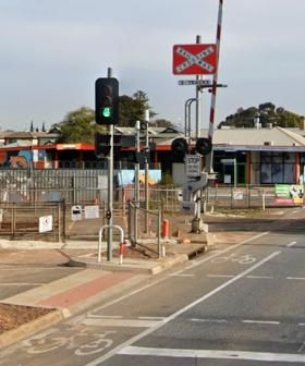 Freight Train Tears Through Torrens Road Rail Crossing After Boom Gates Fail In Terrifying Moment