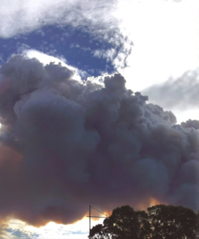 Huge Bushfire Still Burning In The Adelaide Hills As Residents Are Forced To Evacuate