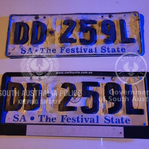 Number Plate Craftsmanship Levels Up As Adelaide Driver With Wooden Plates Is Caught
