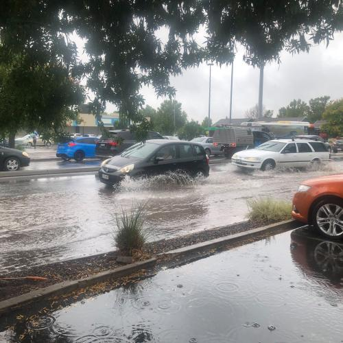 Get Your Umbrella's Ready, Adelaide's Set For A Soaking