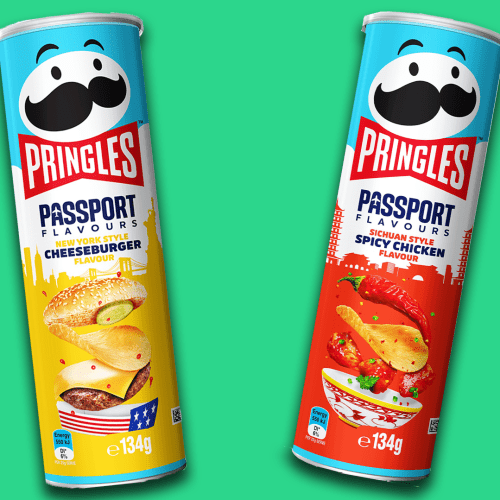 Cheeseburger & Spicy Chicken Pringles Are About To Hit Shelves
