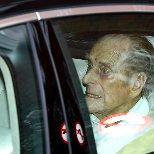 Prince Philip Leaves London Hospital