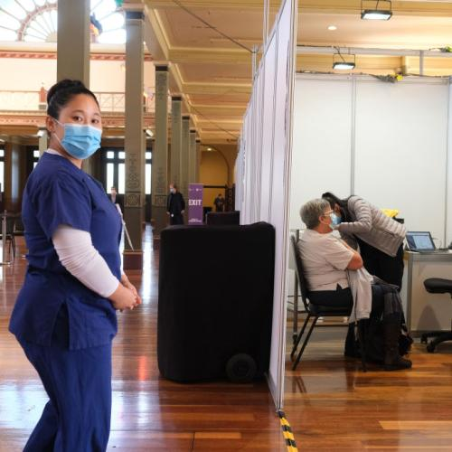 South Australia's First Mass Vaccination Hub Opens