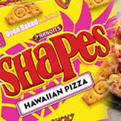 We Finally Know When Shapes' Hawaiian Pizza Flavour Is Hitting Shelves!