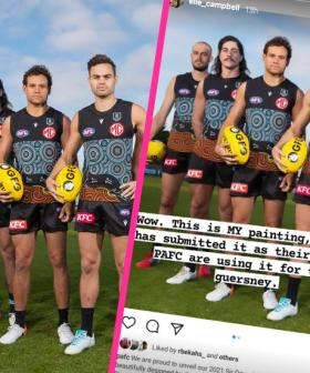 There Is A Claim The Port Adelaide Indigenous Guernsey Artwork Was Stolen