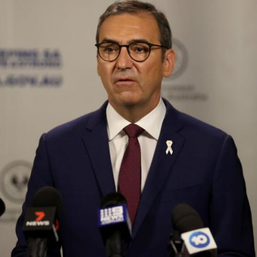"""Premier Steven Marshall """"Very Pleased"""" After State Reports No New Cases"""