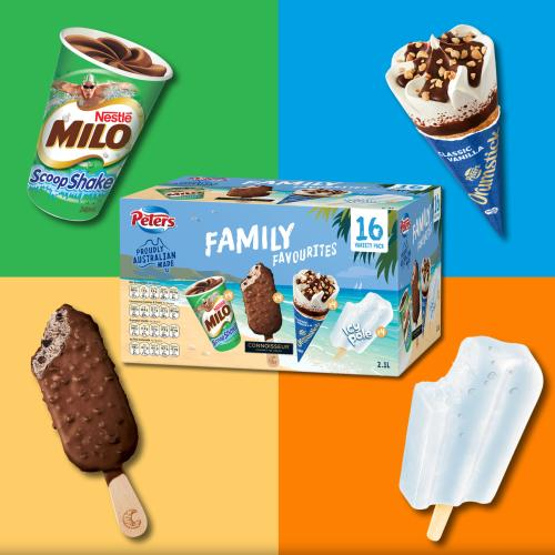 Aldi & Peters Ice Cream Have Conspired Against Winter With This RIDIC Variety Pack
