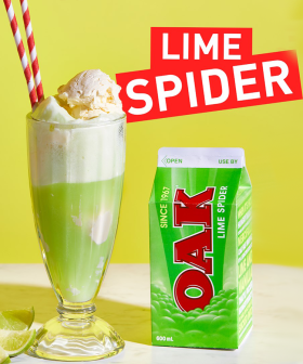 Oak's Re-Releasing Cult Fave 'Lime Spider' Flavoured Milk For A Limited Time!