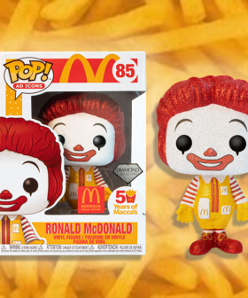 Maccas Have Dropped Limited Edition Glittery Ronald McDonald Funko Pop! Figurines!
