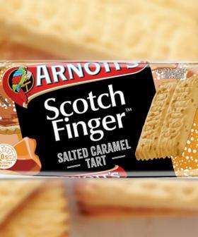 Arnott's Have Just Released Salted Caramel Tart Flavoured Scotch Finger Biscuits!