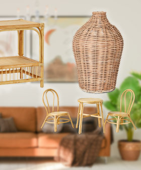 Big W Shoppers Rejoice As Rattan Homewares Are BACK IN SEASON Ready For Our Homes!