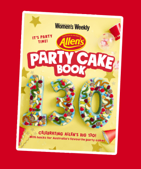 Allens Lollies & Women's Weekly Are Recreating The Iconic Australian 'Party Cake Book'